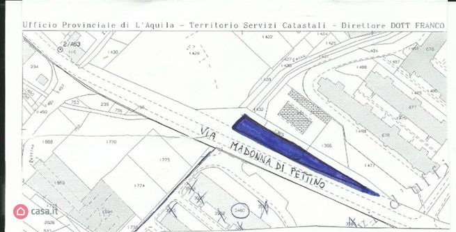 Terreno edificabile in vendita via madonna di pettino, L'Aquila