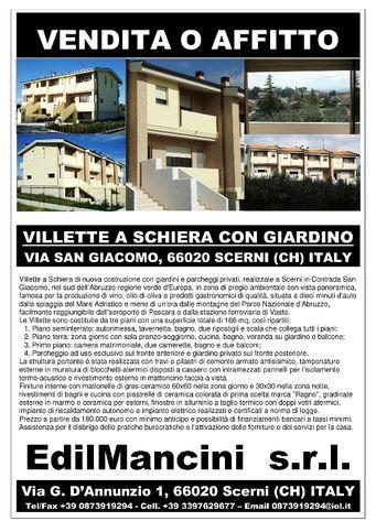 Villetta a schiera in vendita Scerni