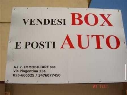 Garage/Box auto in vendita via giolitti , Firenze